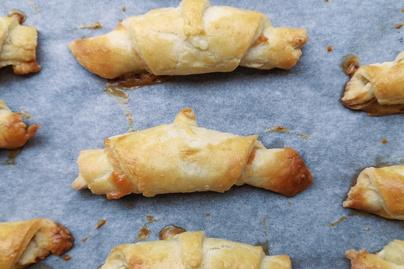 Sósan is finom a zsidó süti, a rugelach – Reszelt sajttól és sajtkrémtől lesz puha