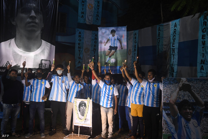 Világszerte milliók gyászolják Diego Maradonát