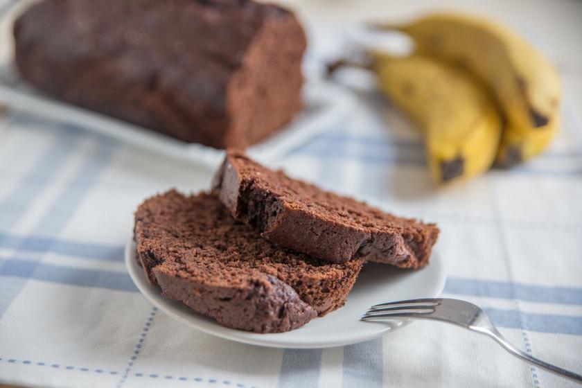 Ellenállhatatlan, csokis banánkenyér: napokig puha, szaftos marad