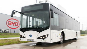 Ötszörösére növeli komáromi egységének kapacitását a BYD elektromosautóbusz-gyár