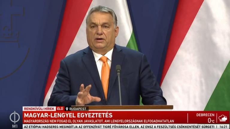 Orbán Viktor: A vétó hazafias kötelességem volt