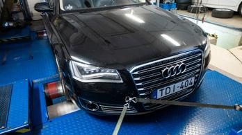 Totalcar Erőmérő: Audi A8 W12 6,3 D4 – 2012.