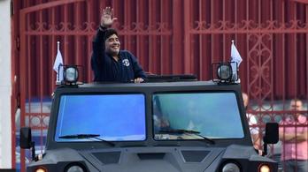 Maradona és az autói