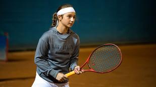 Bak-Szabó Norina teniszező túl van a nehezén