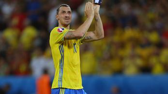 Zlatan Ibrahimovic visszatér a svéd válogatottba?