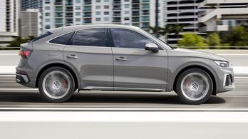 Audi SQ5 Sportback: vadiúj kombináció