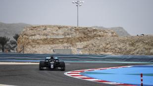 Hamilton nyerte az első szabadedzést Bahreinben
