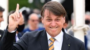 Nem oltatja be magát a koronavírus ellen a brazil elnök