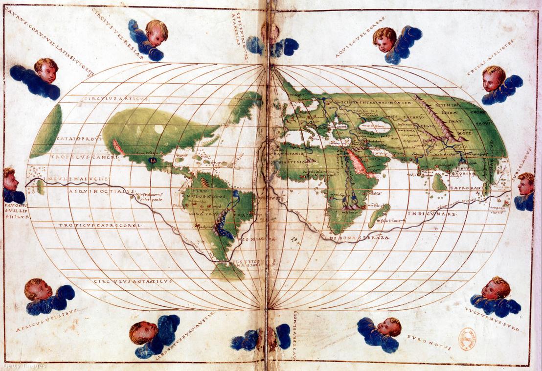 Magellán útja 1519 és 1521 között