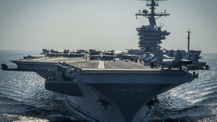 Hadihajót küldött az Egyesült Államok a Perzsa-öbölbe