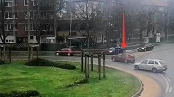 Vagánykodott a sofőr, balesetet okozott, majd lelépett