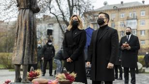 Az éhínség áldozataira emlékeztek Ukrajnában