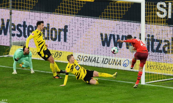 Skhiri második gólja