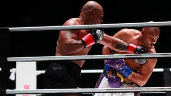 Élve megúszták: Tyson és Jones kiábrándító retrómeccse