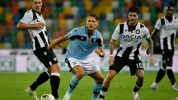 Meglepő vereséget szenvedett otthon a Lazio