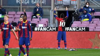 Messi Maradonának ajánlotta gólját, gálázott a Barcelona