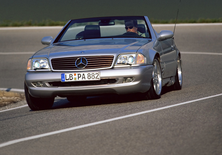 124-131 Mercedes-Benz-SL-R129