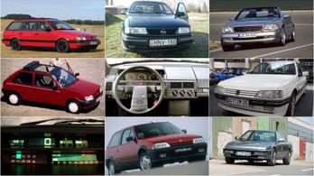 Az Év Autója-díj dobogósai mint használt autók IX. – 1988-1990.