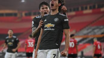 Hosszabbításban fordított kétgólos hátrányból a Manchester United