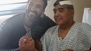 Emberölés gyanúja miatt tartottak házkutatást Maradona orvosánál