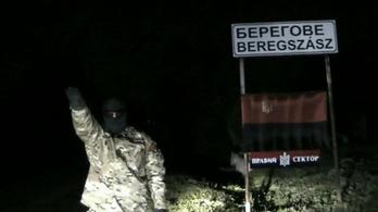 Egy szélsőjobbos ukrán férfi fenyegette a beregszászi magyarokat egy videóban