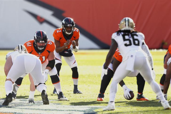 Kendall Hinton (2) úgy lett NFL-irányító, hogy valószínűleg sosem számított rá
