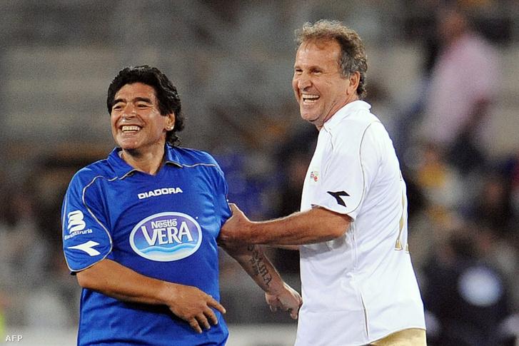 Maradona és Zico 2008-ban