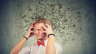 """A sok """"nem"""" mérhető elváltozást okoz az agyban"""