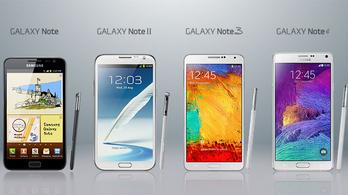 Búcsúzik a Galaxy Note?