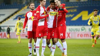 Több mint 40 millió eurós nyereség a Salzburg labdarúgócsapatánál