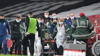 Koponyatörést szenvedett az angol bajnokin, már meg is operálták
