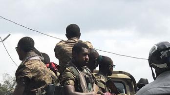 Az etióp kormányhadsereg elfoglalta a lázadó tartomány fővárosát