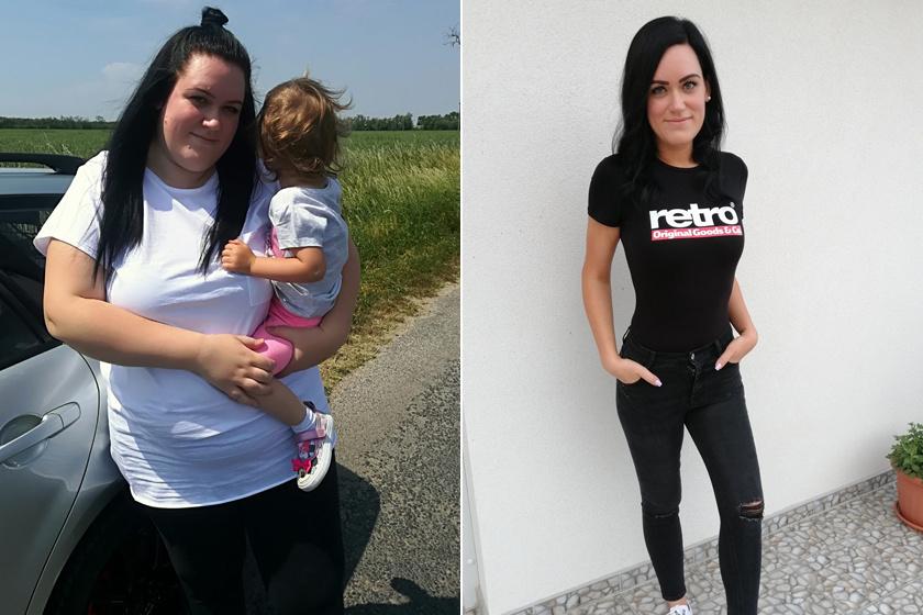 126 kilóról indult Dorina, 65 kilót adott le másfél év alatt - 7 motiváló magyar fogyástörténetet mutatunk