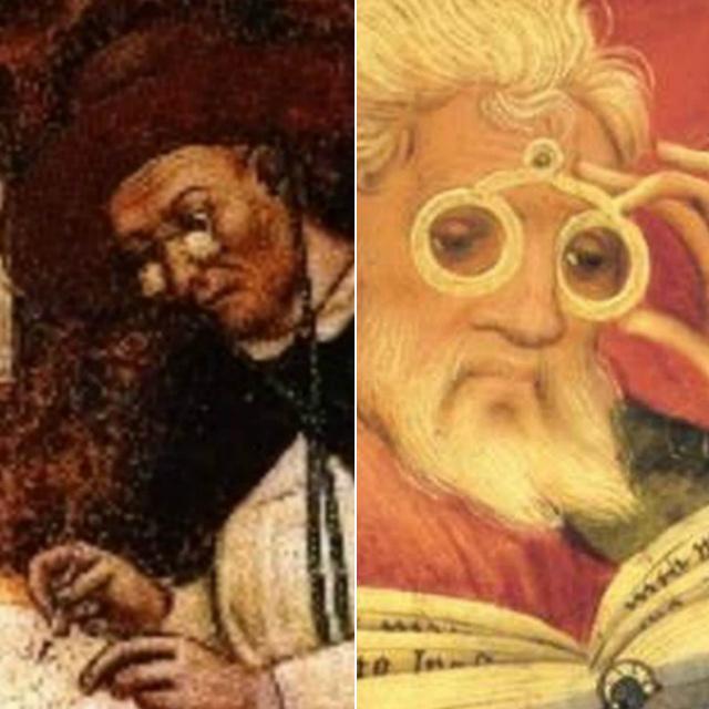 14. századi festmény örökíti meg az első szemüvegek egyikét: az ókorba nyúlik vissza a története