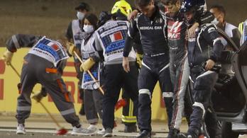 Romain Grosjean szerdán hagyhatja el a kórházat