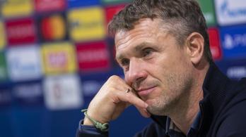 Rebrov: a Juventus elleni mérkőzés bizakodásra ad okot