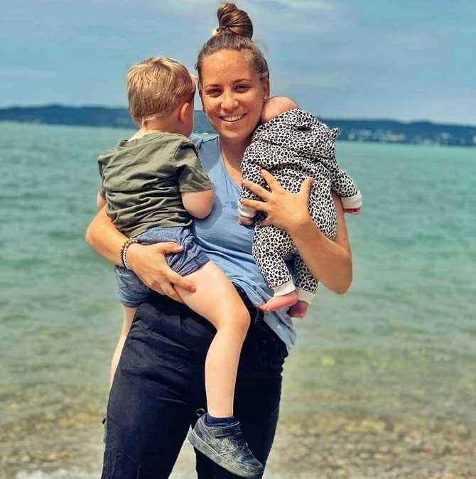 Bogi két kisgyereket nevel: Tyler után 2020 júliusában kislánya született, Grace Elisabeth. Apja augusztusban büszkén posztolta lánya és két unokája fotóját.