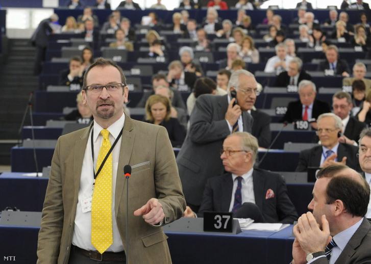 Szájer József Strasbourgban 2013. március 12-én