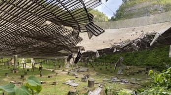Összedőlt az Arecibo Obszervatórium