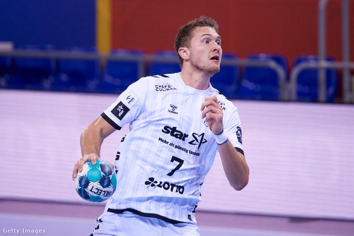 Magnus Landin a THW Kiel mezében