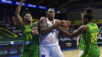 Izgalmas soproni győzelemmel indult a buborékban a női kosárlabda Euroliga