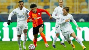 A Sahtar Doneck Ukrajnában is legyőzte a Real Madridot