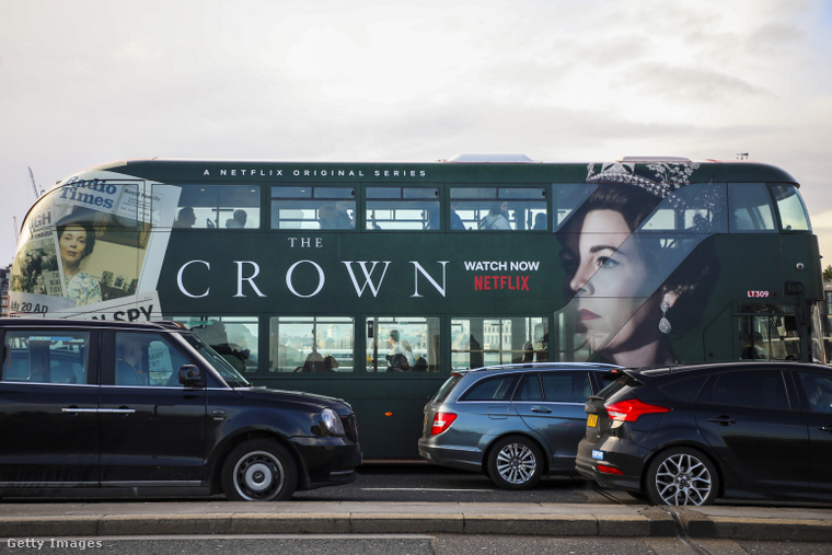A korona tavalyi reklámkampánya Londonban