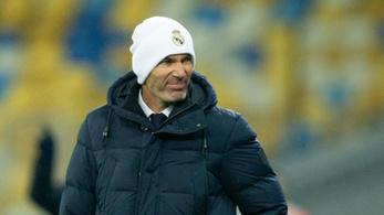 Zidane nem mond le, elismeri, hogy mély gödörben a Real
