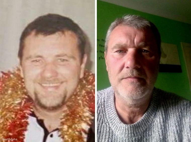 Íme az eltűnt, és azóta megtalált apuka, az 53 éves David Riggs fiatalkorában és most