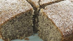 Ez a jó kis mákos süti citromszósszal lesz igazán tökéletes