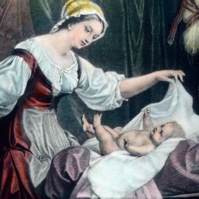 A pelenkázás története a középkortól napjainkig: mikor mit használtak?