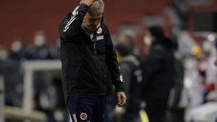 Menesztették a kolumbiai futballválogatott kapitányát