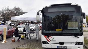 Nincs szükség a szűrőbuszokra Pest megyén kívül a tisztifőorvos-helyettes szerint