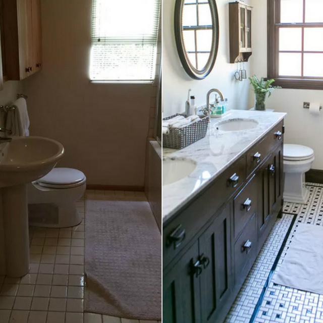 Minden lerobbant fürdőben ott rejlik az oázis: ők előhozták, nézd meg, milyen lett